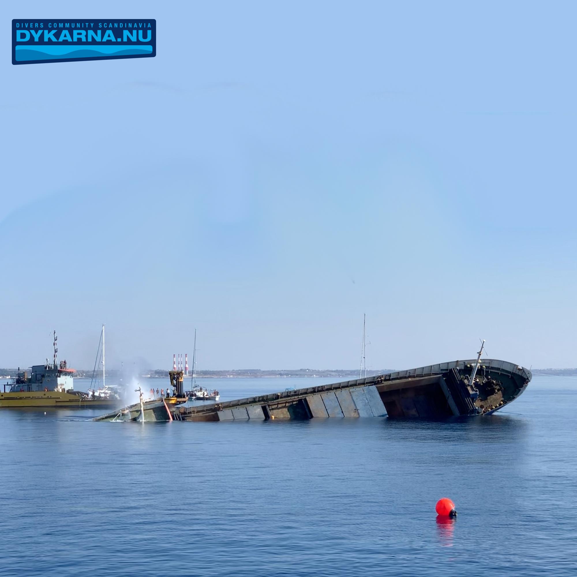Sänka skepp på Cypern - Om Zenobia, Elpida och mycket mer